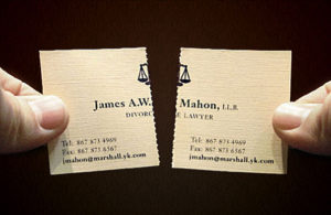 Boşanma Avukatı Kartvizit Modeli